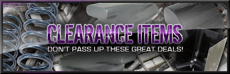 Great Deals on Clearance Parts