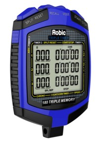 Robic Triple Timer Stopwatch